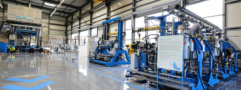 Hennecke's technical centre reopens