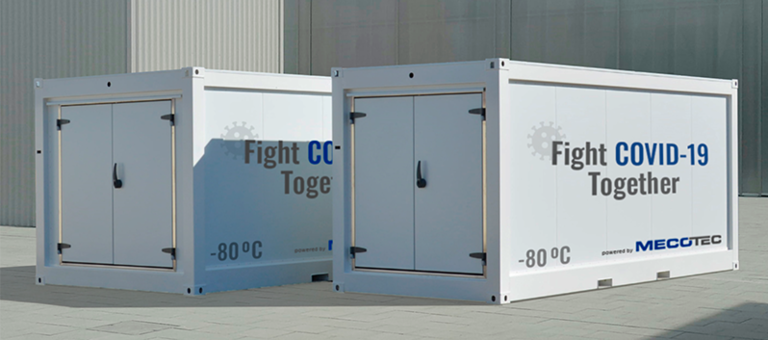 Mecotec creates container for coronavirus vaccine distribution
